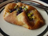 blueberry and pistachio danish