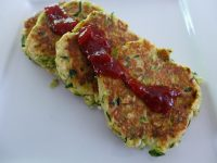 zucchini patties asian
