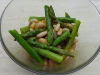asparagus and white bean salad