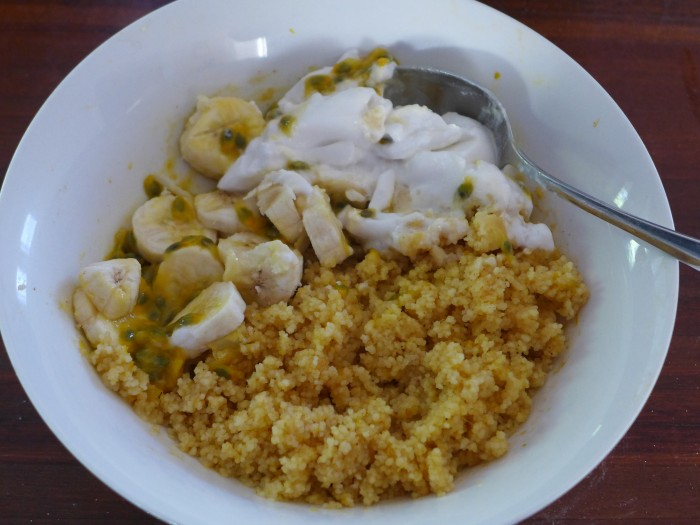sweet couscous for breakfast