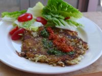 grated potato cake