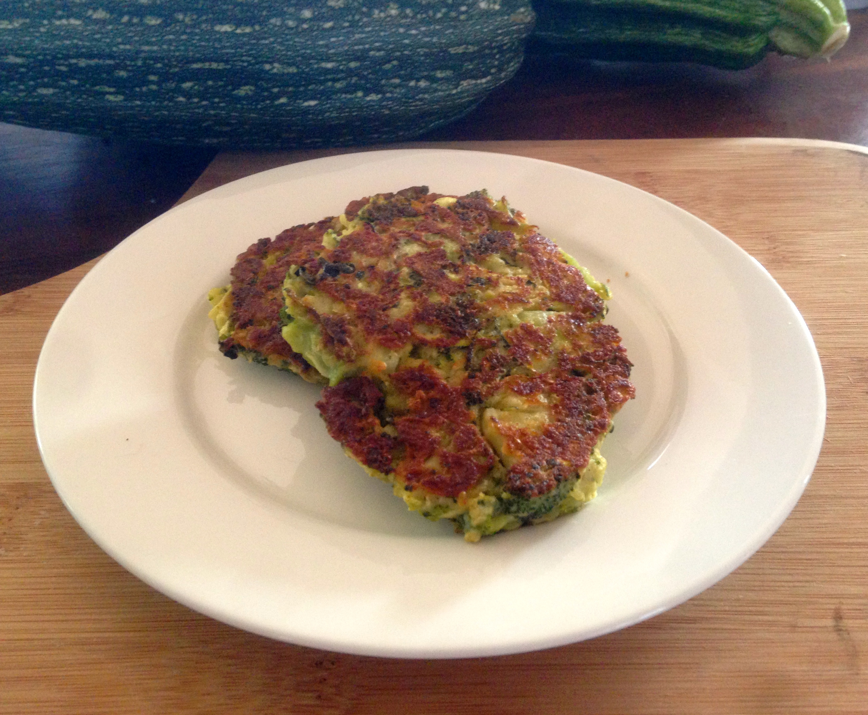 green fritters – zucchini and broccoli