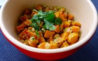 sweet potato and chickpea salad