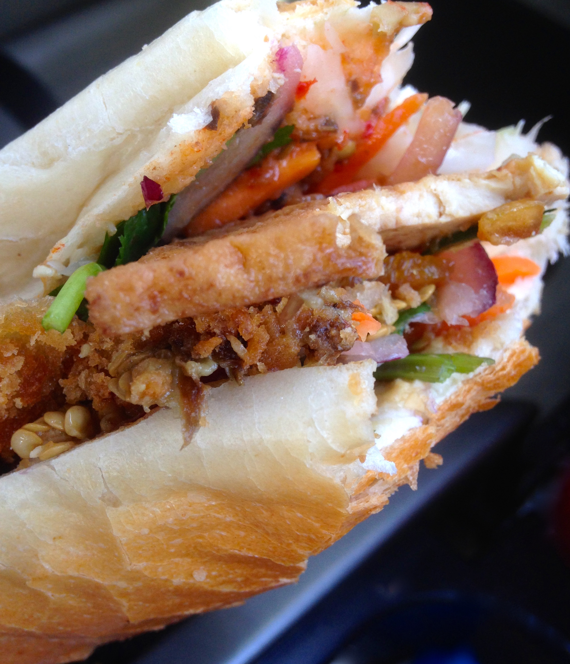 banh mi at trang bakery and cafe