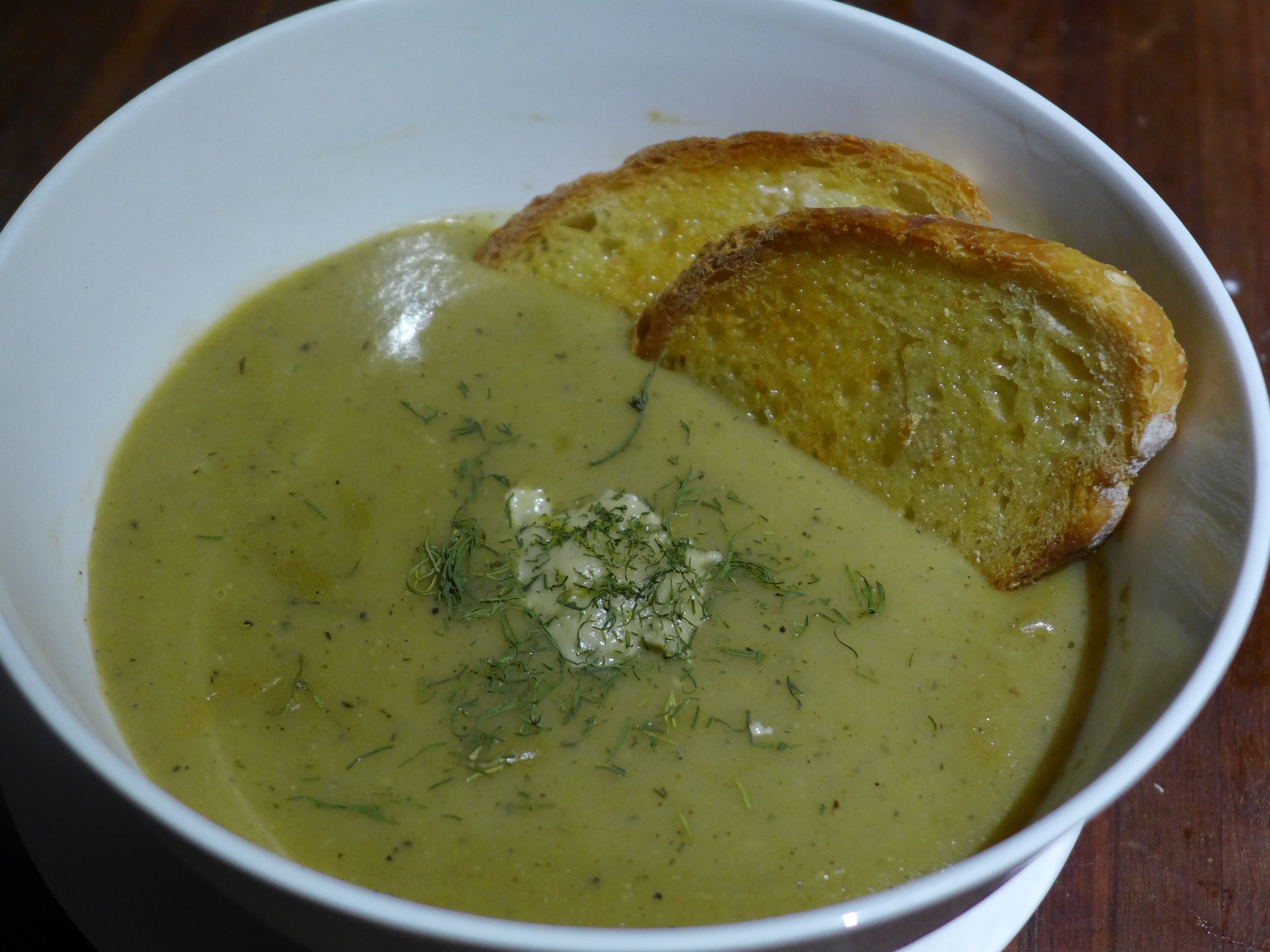 brussels sprout and potato soup