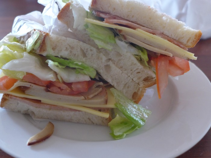 eat all the smith & deli sandwiches – #5, club sandwiches not seals