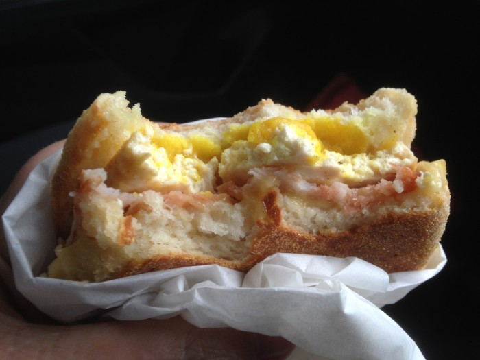 eat all the smith and deli sandwiches – #7 egg mcmartinez