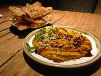 pumpkin and pinenut dip