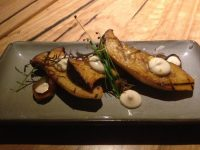 grilled king mushrooms