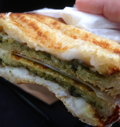 eat all the smith & deli sandwiches – #28 pesci pesto
