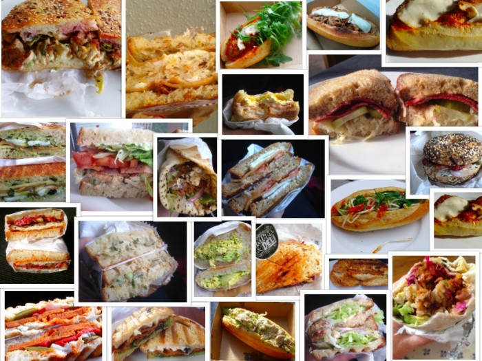 S&D sandwich collage