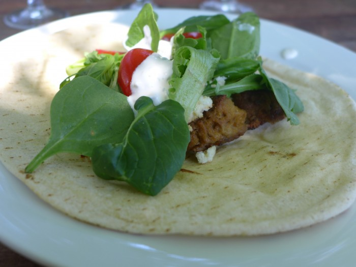 lunch with friends – the great souvlaki taste off
