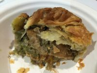 'chicken' and pesto pie